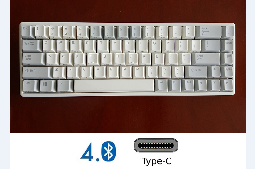 NIZ 84 Mini 68 Plum Mechanical Keyboard Capacitive 35g Programmable Keyboard 66 Key Realforce Structure