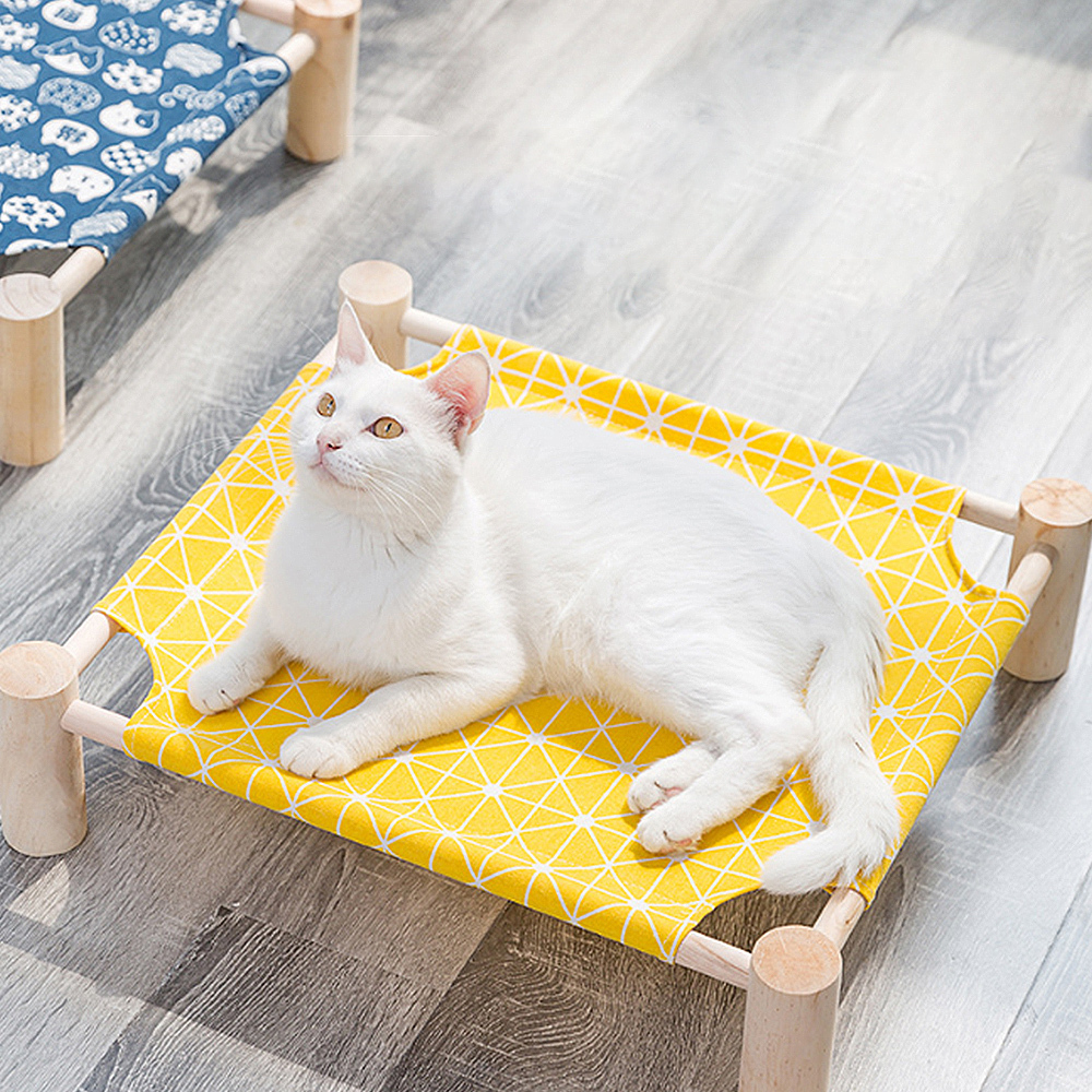 Detachable Cat Hammock Portable Kitty Bed Pet House Lazy Mat Cushion Lounger for Cats Small Dog Pets Outdoor Camp Bed Supplies in Cat Beds Mats from Home Garden