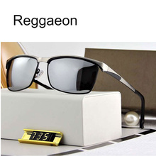 reggaeon luxury Sunglasses Polarized for Men women 2020 high quality uv400 Brand Designer Oculos De Sol metal frame Sun Glass