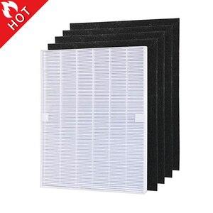 Image 1 - Piezas de purificador de aire, prefiltros de carbono y 1 pieza, filtro HEPA principal para Winix 115115 5300 5500 6300