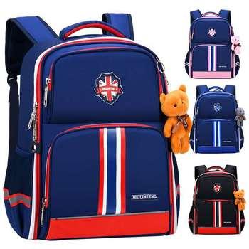 Orthopedic Backpack Schoolbag kids Children School Bags for Boys Girls Big Capacity Waterproof Satchel Kids Book Bag Mochila
