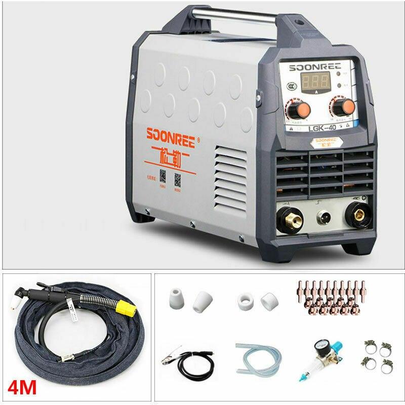 LGK-40 Plasma Cutter 40A 220V Elektrische DC Inverter Luft Plasma Schneiden Maschine