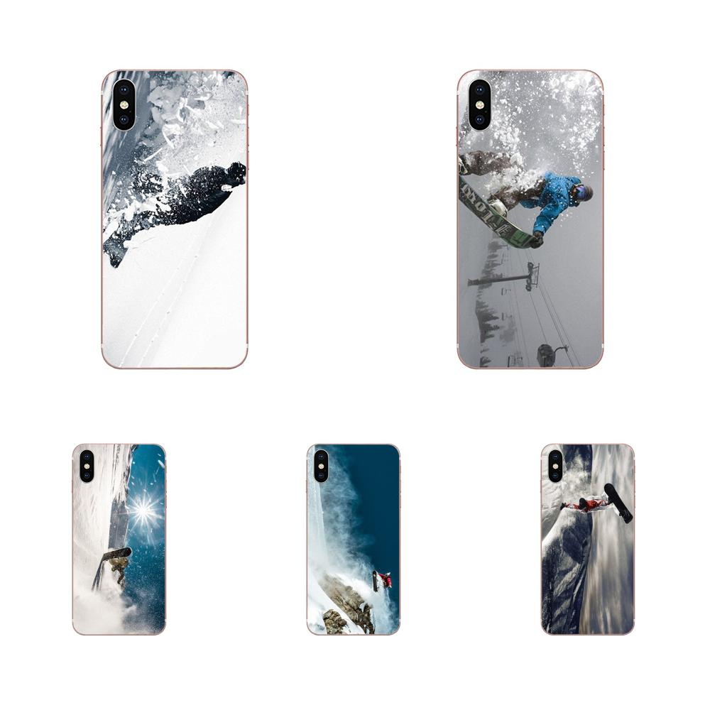 Painted Awesome Love Snow Or Die Ski Snowboard For Samsung Galaxy A71 A51 A01 Galaxy S20 Plus S20 Ultra S11 S11E S10 Plus