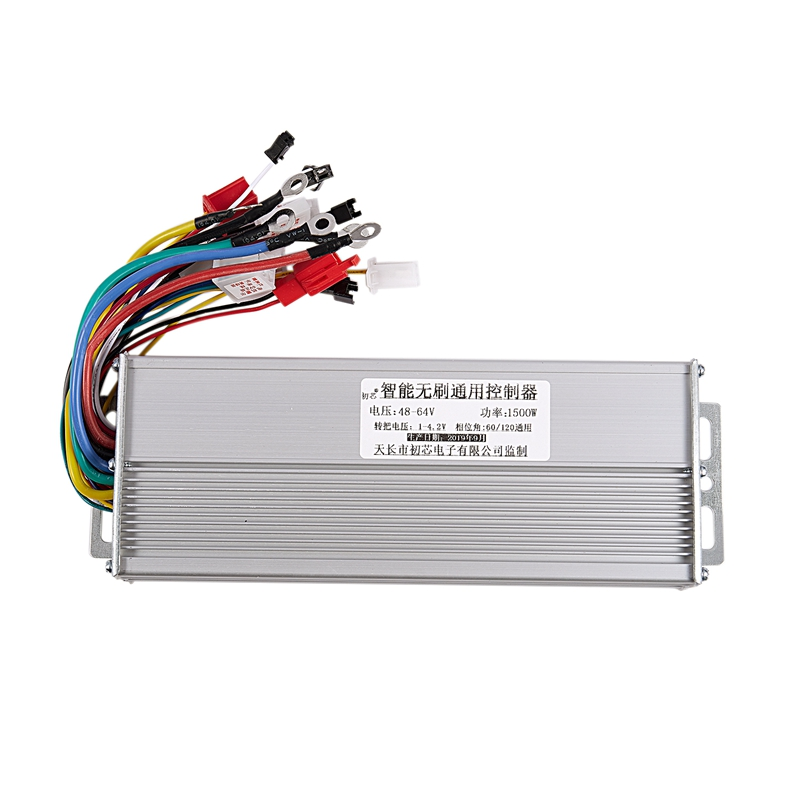 Dropship-48V 60V 64V 1500W Brushless Controller/Ebike Controller/Bldc Motor Controller for Electric Bicycle/Scooter