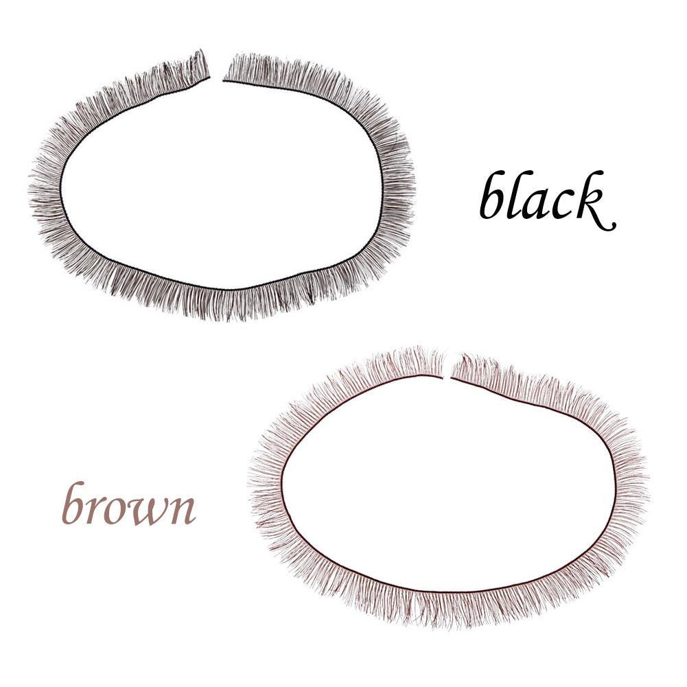 5pcs/Lot 8mm Width *20cm Length Eyelashes For 1/3 Baby Dolls Doll Strips Accessory Up Tool Eye For DIY 1/4 Doll Line Make A2O0