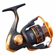 Fishing Reels Jigging Full Metal Spinning EF1000-7000 5.2:1 Tools Accessories