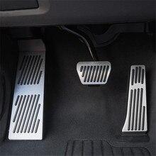 Pedal de freio para bmw, para modelos x3 g01 x4 g02 7 series g11 g12, acelerador alumínio acessórios