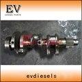 Подлинная сталь Hiatch ZX35U-3 экскаватор для Yanmar 3TN84 3D84 3TNE84 коленчатый вал