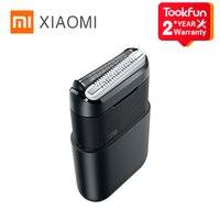 XIAOMI-Afeitadora eléctrica MIJIA BRAUN 5603, Mini afeitadora flexible portátil de 2 cabezales, impermeable, lavable, cortador de barba