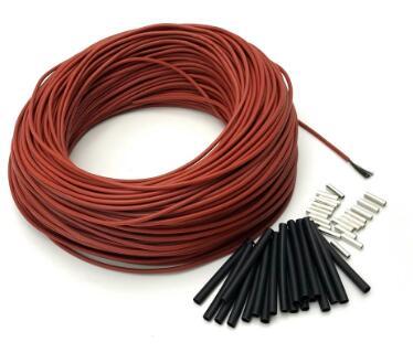 Câble de plancher chaud en carbone à faible coût câble de chauffage en Fiber de carbone Hotline électrique nouveau câble de chauffage infrarouge