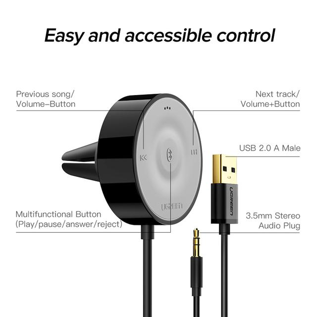 Bluetooth 5.0 Car Receiver