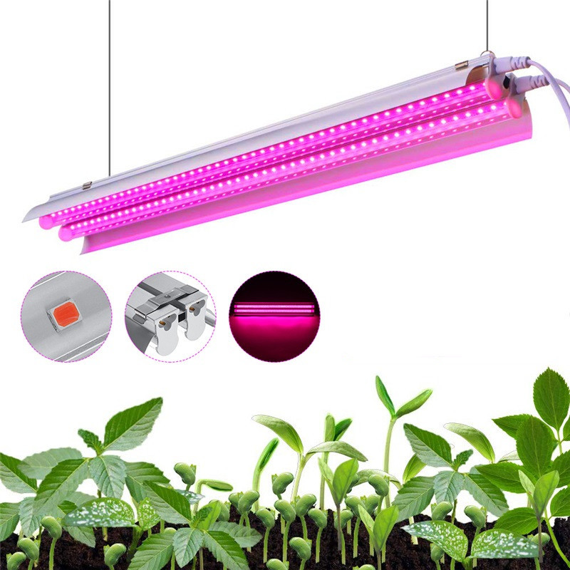Full Spectrum LED Grow Light 500W Indoor Plants Growing Lamp  LED Strip Growth Tent Box Greenhouse Seeding Flower Dropshipping