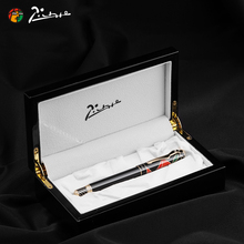 Pimio Luxury Fountain Pen 10K Gold Nib Maya Heavenly High-end Fashion Pens with Gift Box for Business Office Man Woman