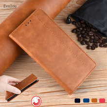 Retro Flip Book Leather Cover for OPPO A9 A5 2020 A11X Magne