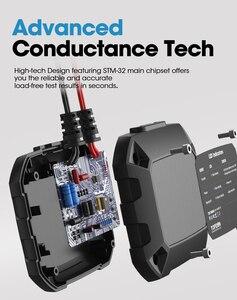 Image 3 - TOPDON جهاز اختبار بطارية السيارة مع Bluetooth ، جهاز اختبار بطارية السيارة ، بلوتوث ، 12 فولت ، لاسلكي ، مراقب بطارية 100 إلى 2000CCA ، شاحن تلقائي ، أداة تحليل كرنك