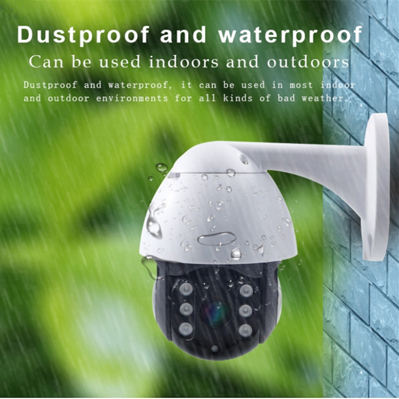 Human Tracking IP Camera Outdoor 1080P Dome Ptz Surveillance Camera De Seguridad Ip Wifi Exterior CCTV Home Security Camera title=