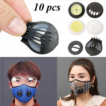10PCS Mouth-muffle Sports Mask Valves Bicycle riding Mask Breathing Valve Anti Pollution Dust Exhaust Gas Mask Accessories