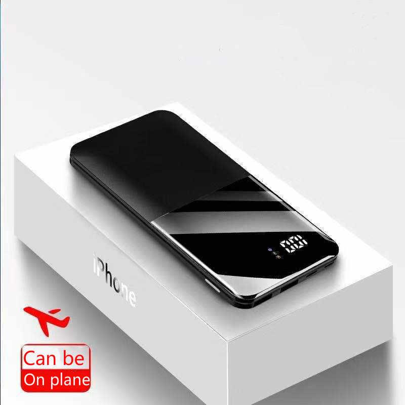 Banco de energía de 2020 mah, Banco de energía de carga portátil, Banco de energía de 30000 mAh USB, cargador de batería externo para XiaomiMi 9 8 iPhone 7