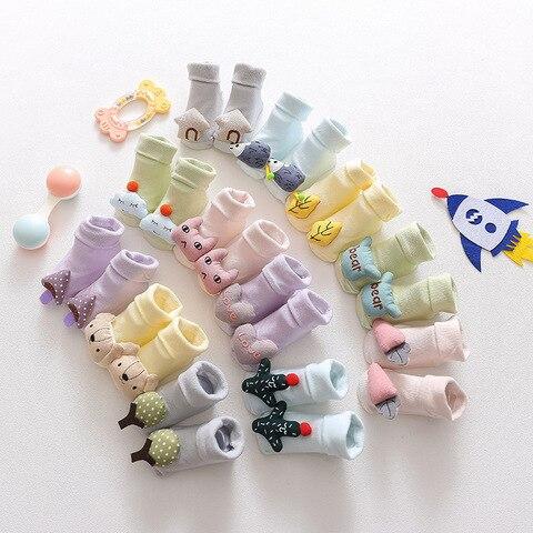 recem nascidos do bebe meias chao boneca estereo meias criancas