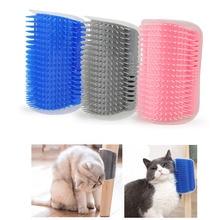 Pet-Products Cat-Massage Brush Comb Trimming Cats-Brush-Corner Hair Self-Groomer Shedding