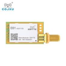 Módulo de radiofrecuencia UART receptor de datos Módulo de radiofrecuencia inalámbrico ebyte E61 433T17D de largo alcance TCXO Modbus de 433MHz