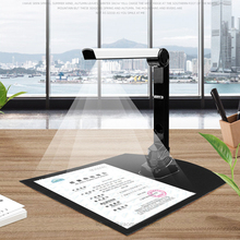 Fold Scanner Book Document File 8 Mega-Pixel Camera Capture Size a4 For Windows English Software For Office Teaching