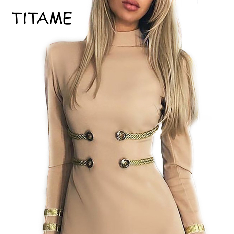Women's Casual Solid Color Stand Neck Long Sleeve Bodycon Dress Women Elegant Brief Mini Casual Dress Workwear For Daily Wearing