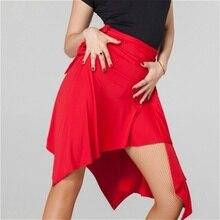 Women Ballroom Latin Salsa Tango Dance Skirt Skate Wrap Scarf Dancewear 904-A093