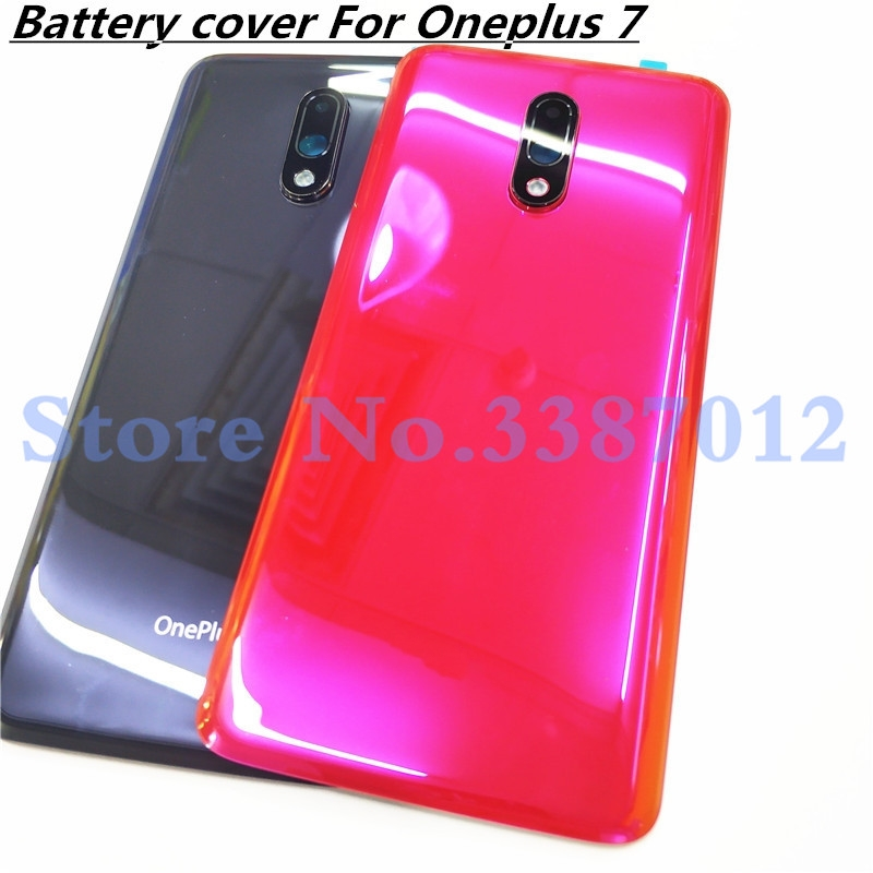 Original 3D Glass 6.41 inch For Oneplus 7 Oneplus7  Battery Door Back Cover Rear Housing Case Replacement Parts With Camera Lens|Mobile Phone Housings & Frames| |  - title=