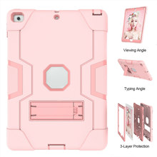 New Sale Hybrid Rubber Case Shockproof Cover Hard Protection Case for iPad 7th Generation 10.2 Inch(China)