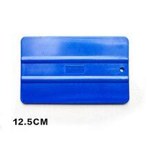 Professional Car Tuning Tool 12.5x8cm Abrasion Resistant Blue Plastic Vinyl Scraper For Wrap QG-26