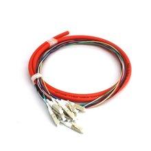 LC/UPC 12-core Multimode Jumper 1.5m Optic Cable Jumper Optical Patch Cord Fiber Jumper Durable Cable jumper billionaire jumper