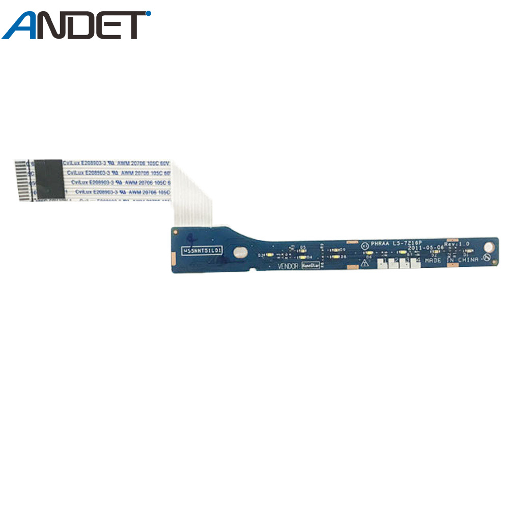 Original LED Board For Toshiba P775 P775d LED Board With Cable LS-7216P