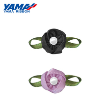 YAMA Foliage Tripetalous flower Flower Diameter 15mm±3mm Leaf 26mm±3mm 200pcs/bag Satin Ribbon Diy Dress Accessories Wrapping