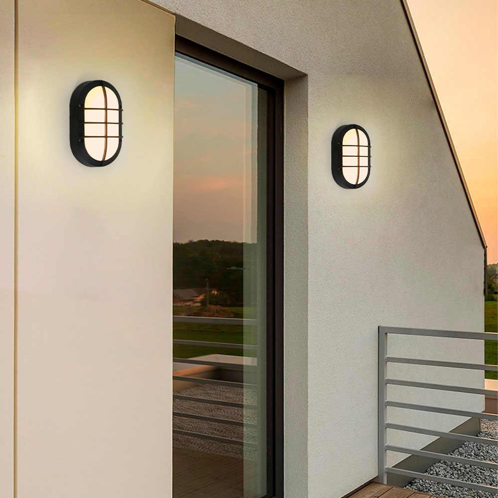 Moderno Giardino 10w Led Applique Da Parete per Esterni Luce del Sensore di Movimento Radar di Controllo Esterna Riparo Della Parete 3 Colori di Luce Variabile