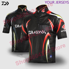 2020 DAIWA Clothing Fishing Men Fishing Clothes UV Protection Moisture Wicking Breathable Short Sleeve Fishing Shirt Camisas Pes(China)