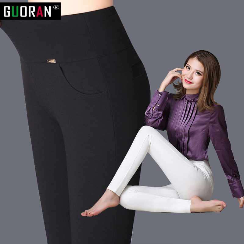 2020 winter warm Women Pencil Pants Candy Color High elasticity Female Skinny pants female trousers Leggings 6