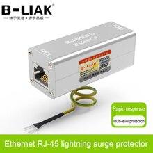 B LIAKイーサネットネットワークカードRJ45サージプロテクタサンダー避雷保護デバイス