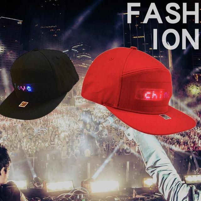 LED Hip Hop Hat 2