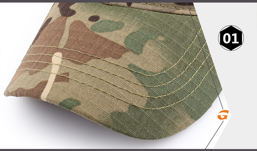 Outdoor Multicam Camouflage Adjustable Cap Mesh Tactical Military Army Airsoft Fishing Hunting Hiking Basketball Snapback Hat 12