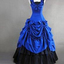 Викторианское платье для Хеллоуина, для взрослых, для женщин, красивый, викторианский, красный костюм, Gottlorita's, большое, персонализированное платье
