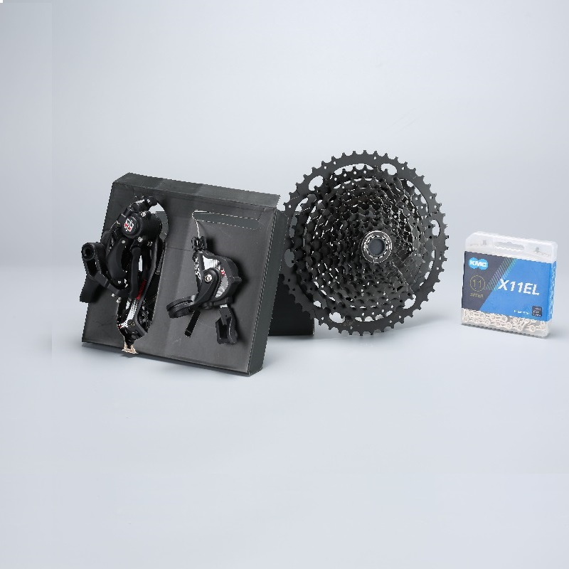 11 Speed MTB Groupset 11-50T Cassette Shifter Rear Derailleur Gear Chain Mountain Bike Group For <font><b>Shimano</b></font> <font><b>XT</b></font> <font><b>M8000</b></font> SRAM Sunrace image