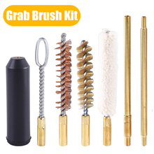 7Pcs/set Tactical Gun Cleaning Kit Portable Pistol Rod Cleaner Brush Tools Gun Cleaning Accessories for 22/45/357/9mm