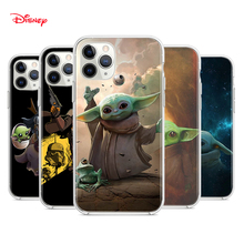 Silicone Cover Baby Yoda The Mandalorian For Apple IPhone 12 Mini 11 Pro XS MAX XR X 8 7 6S 6 Plus 5S SE Phone Case
