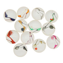 10-50pcs Women Sexy Heels Bag Lipsticks Design Glass Cabochon Demo Mix Cameo For Jewelry Craft Making Finding 8 10 12 15 20 30mm