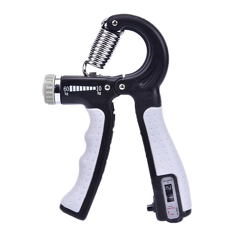 Adjustable Countable Finger Rehabilitation Training R-type Grip Force Enhancer Rehabilitation Equipment Muscle Strength Grip