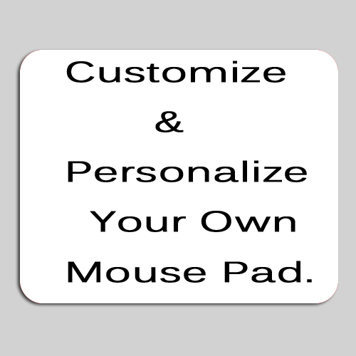 Customized Personalized Your Own Photo picture design mousepads Unique DIY on Rectangle Rubber Mouse Pad mat PC Computer