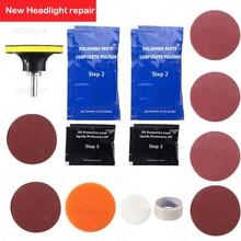 Car Headlight Polisher Restorer Polish Paste for Auto Headlights Restoration Kit Washer Chemical wax Headlamp Lenses Repair Care
