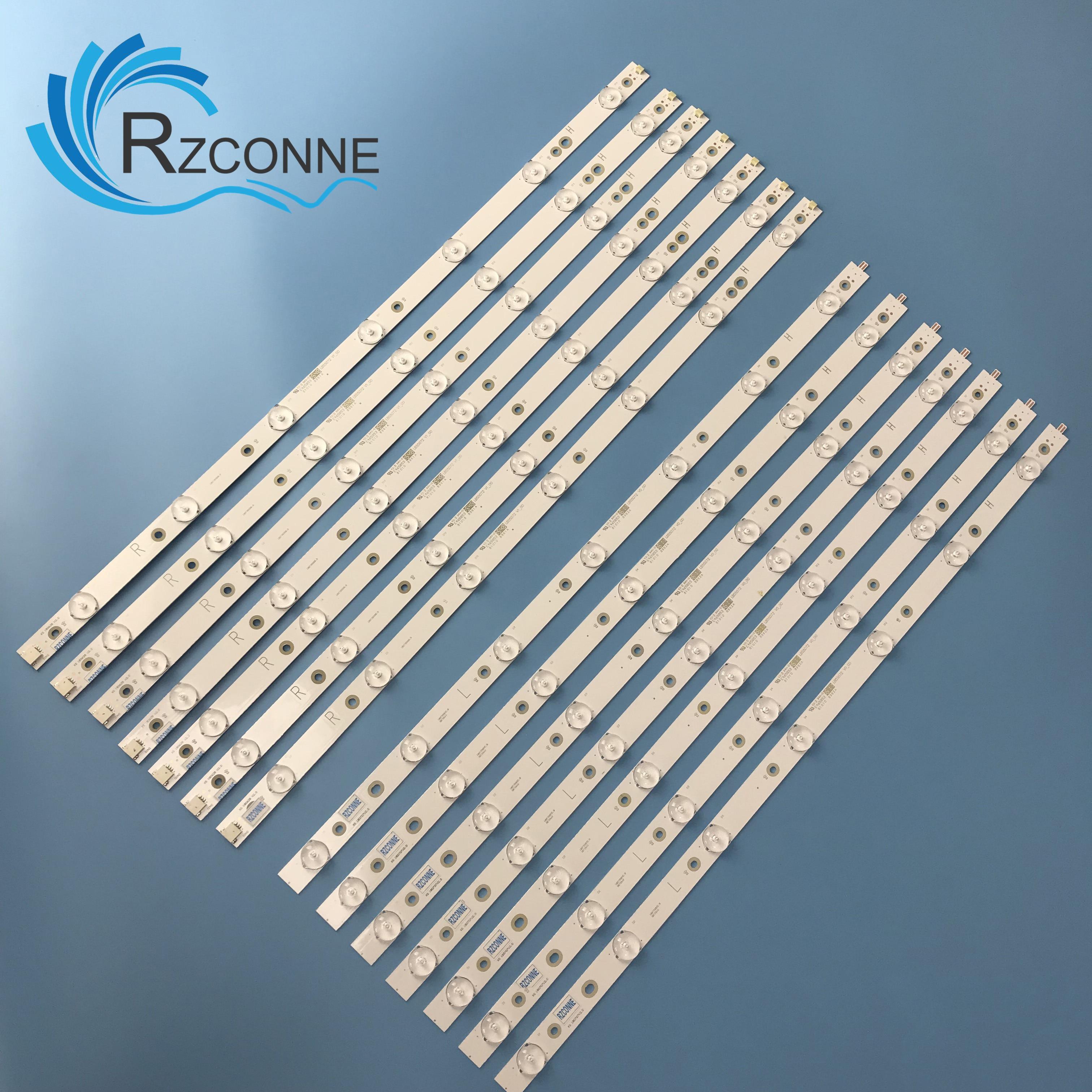 LED Backlight  For 55PUS6501/12 55PUS6551/12 55PUS6561 55PUS6581 TPT550U2 GJ-2K16-550-D714-V4-L R LBM550M0701-KY-4 0 (R) (L)