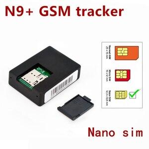 N9+ GSM Tracker Listening Device Mini Spy Monitor Voice Surveillance System 2 Mic Audio Voice Monitor Surveillances